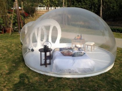 inflatable bubble tents