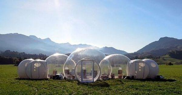 bubble tent 1